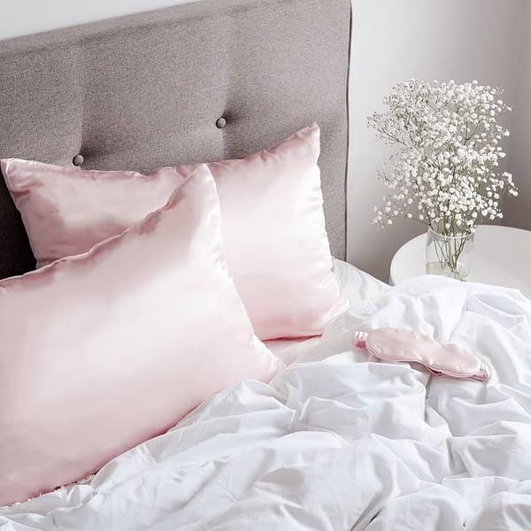 Silk Pillowcase Pink Singapore