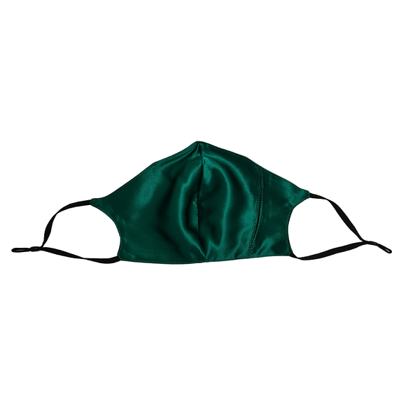 June the six face mask emerald