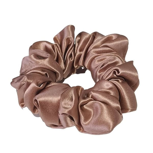 Large Silk Scrunchie Toffee
