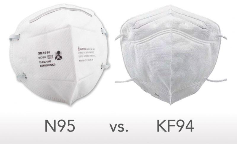 N95-vs-KF94 Mask