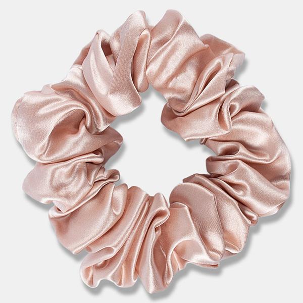 Large Silk Scrunchie Blush