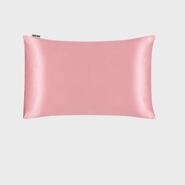 Rose Gold Silk Pillowcase