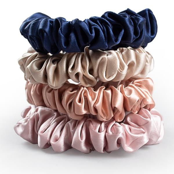 Silk Scrunchies Multi Pack