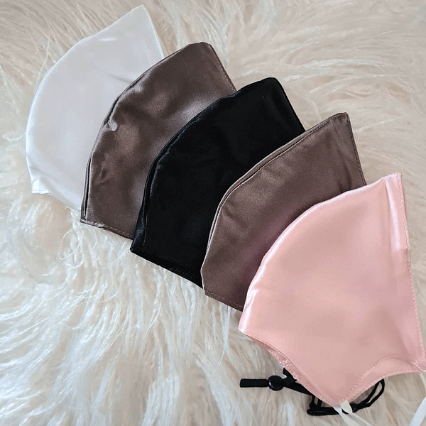 Silk Face Mask Pack of 5
