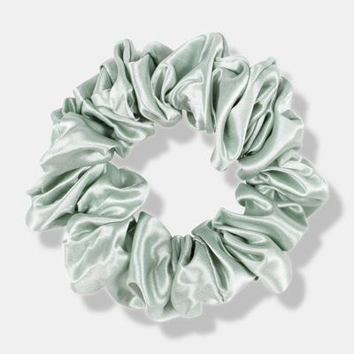 Mint Green Large Scrunchie Silk