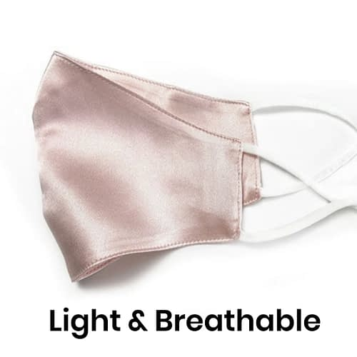 Silk Face Mask Breathable