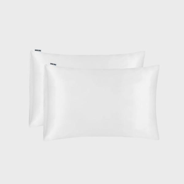 Silk Pillowcase White 2 Pack