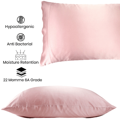 Reasons to Sleep on a Silk Pillowcase