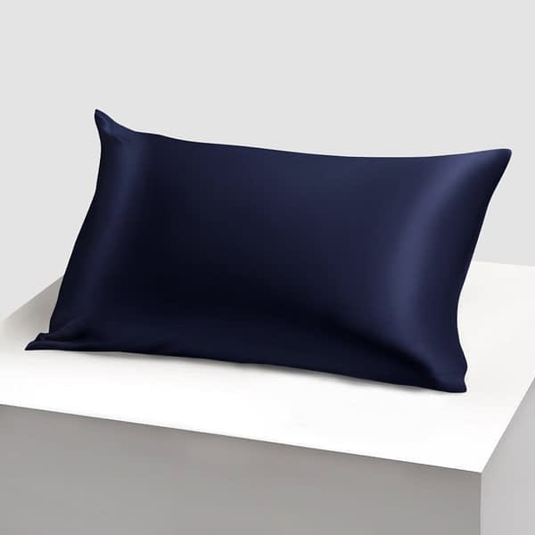 Navy Silk Pillowcase Singapore