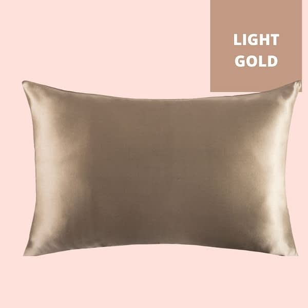 Light Gold Champagne Silk Pillowcase Singapore