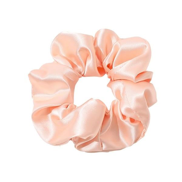 Peach Silk Hair Tie Singapore