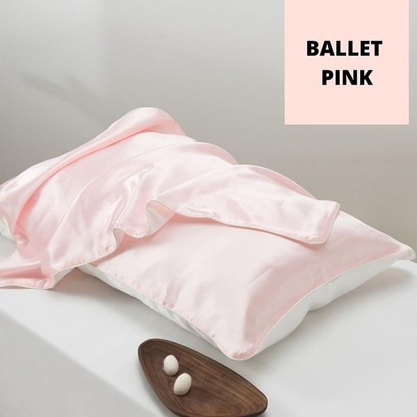Pink Tencel Silk Pillowcase