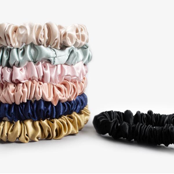 Satin Silk Scrunchies