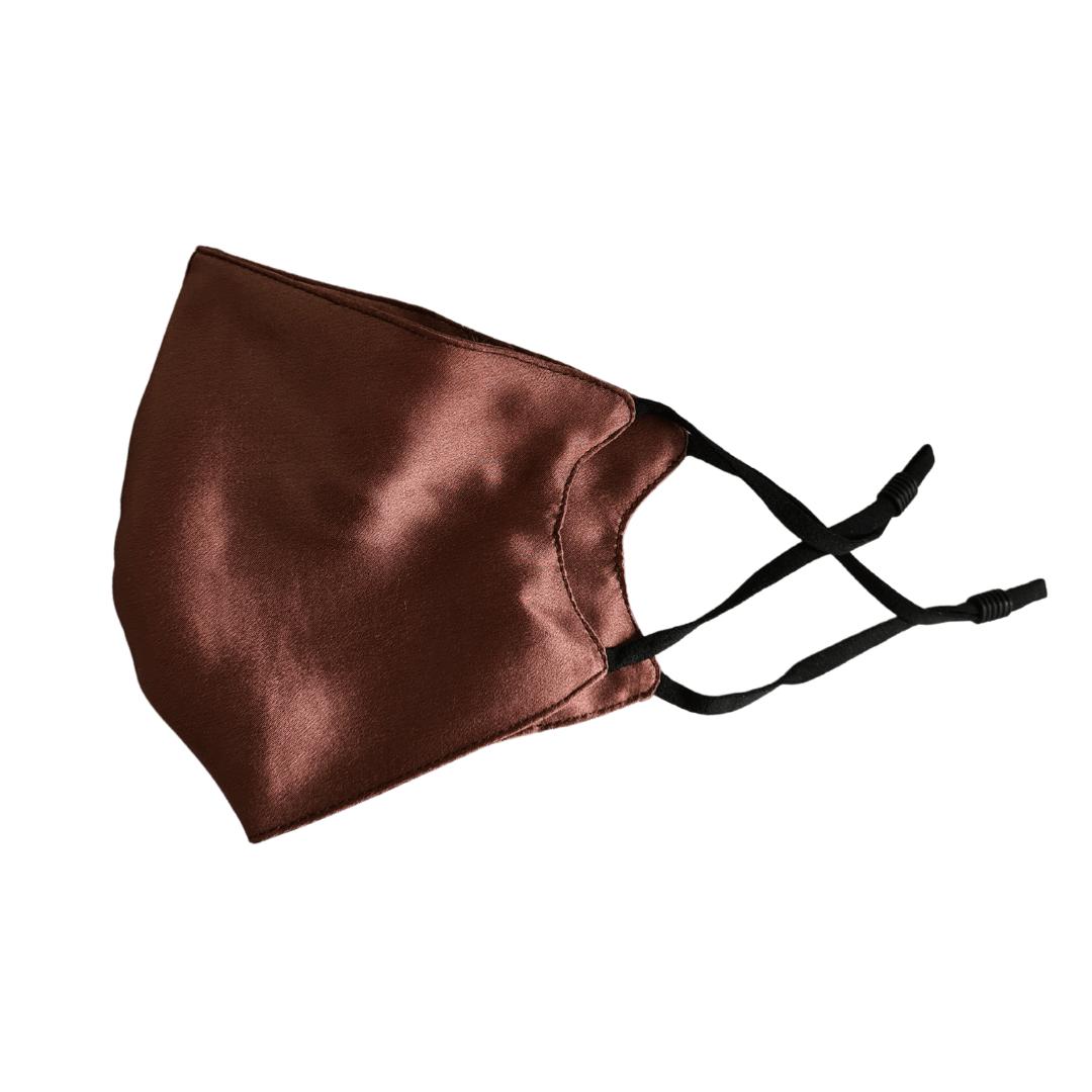 Coffee Silk Face Mask