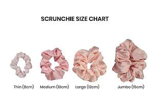 Scrunchie Size Chart